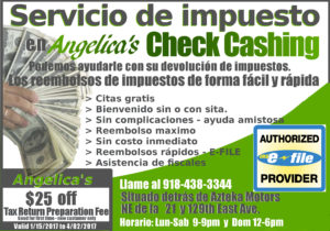 Angelica's Check Cashing